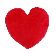 Fényképpel nyomtatható nagy, szív alakú párna (béléssel együtt)