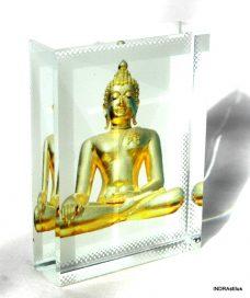 Buddha kristálykép