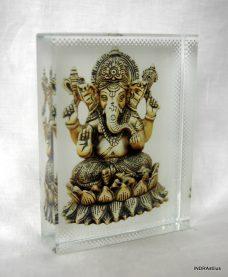 Ganesha kristálykép