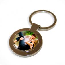 Fém kulcstartó (kör alakú)