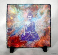 Buddha kőlap