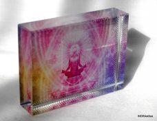 Meditációs kristálykép